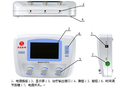 DJT-TF3痛风脉冲治疗仪