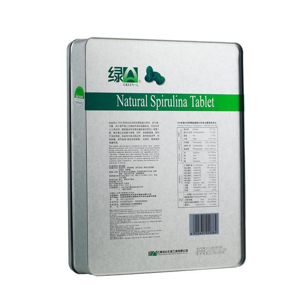 绿A天然螺旋藻精片 0.5g*336片
