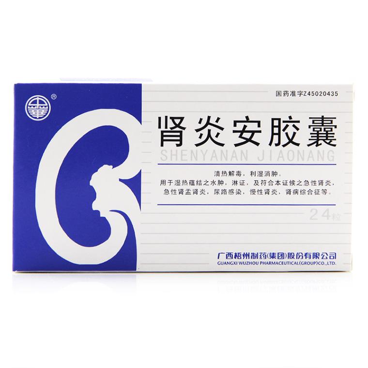 广西梧州 肾炎安胶囊
