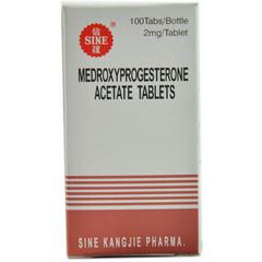信谊天平 醋酸甲羟孕酮片
