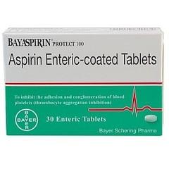 拜耳医药保健 阿司匹林肠溶片