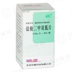 北京中惠 盐酸二甲双胍片