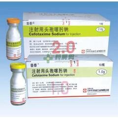 苏州中化 注射用头孢噻肟钠