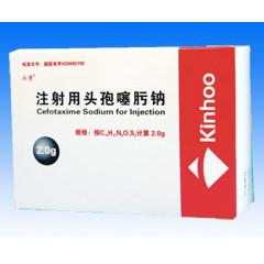 苏州壹药 注射用头孢噻肟钠